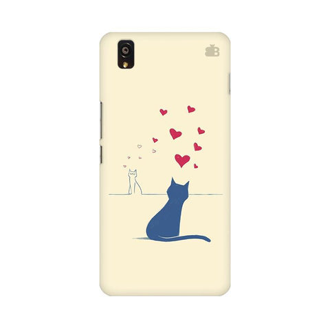 Kitty in Love OnePlus X Phone Cover