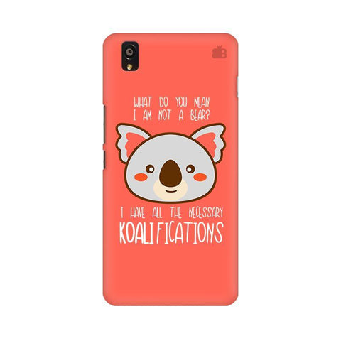 Koalifications OnePlus X Phone Cover