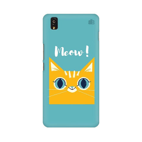 Meow OnePlus X Phone Cover