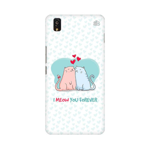 Meow You Forever OnePlus X Phone Cover