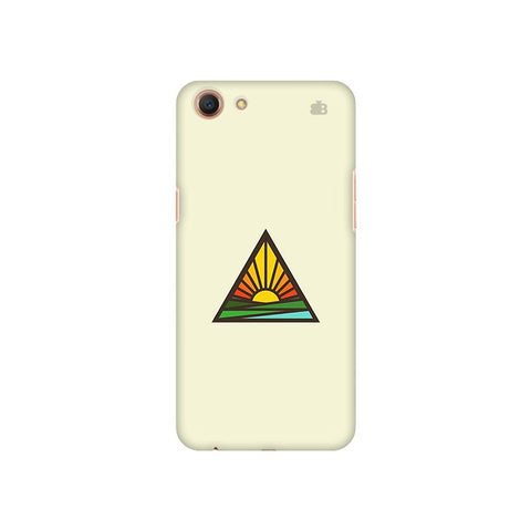 Triangular Sun Oppo A1 Cover