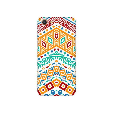 Wavy Ethnic Art Oppo A1 Cover