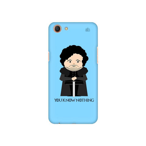 You Know Nothing Oppo A1 Cover