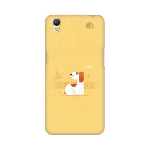 Calm Dog Oppo A37 Phone Cover