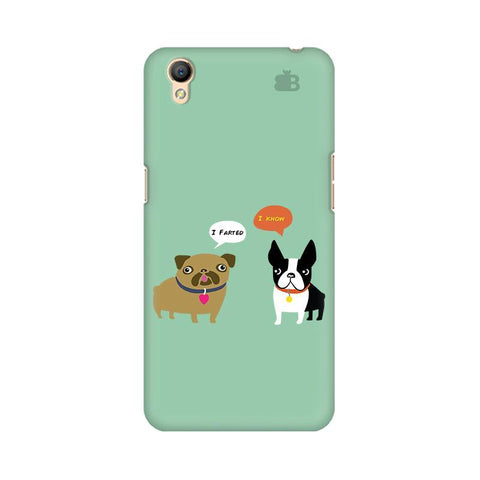 Cute Dog Buddies Oppo A37 Phone Cover