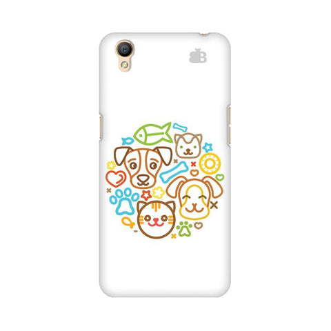 Cute Pets Oppo A37 Phone Cover