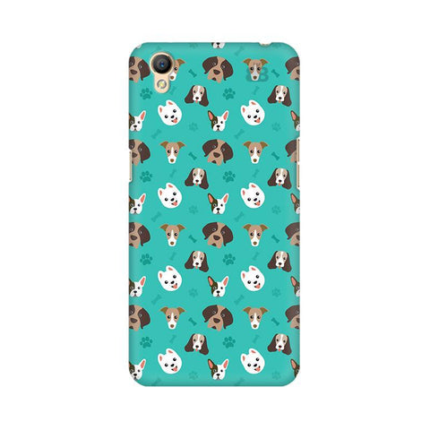 Doggie Pattern Oppo A37 Phone Cover