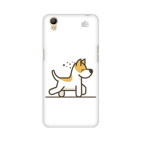 Happy Puppy Oppo A37 Phone Cover