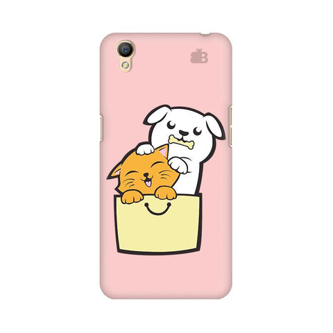 Kitty Puppy Buddies Oppo A37 Phone Cover