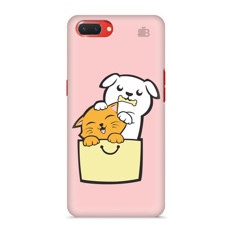 Kitty Puppy Buddies Oppo A3S Cover