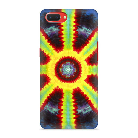 Tie & Die Pattern Oppo A3S Cover