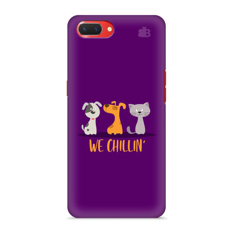 We Chillin Oppo A3S Cover
