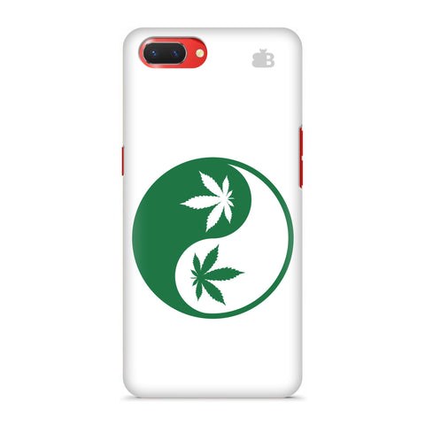 Weed Yin Yang Oppo A3S Cover