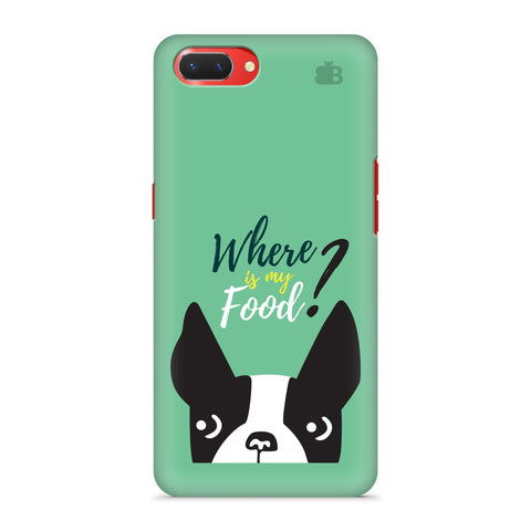 Where is my Food Oppo A3S Cover