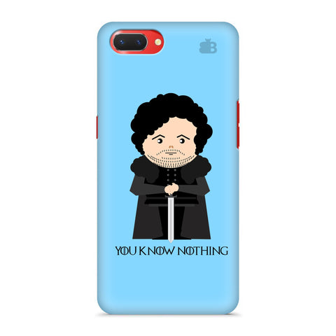 You Know Nothing Oppo A3S Cover