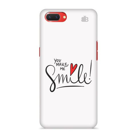 You make me Smile Oppo A3S Cover