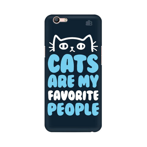 Cats favorite People Oppo A57 Phone Cover