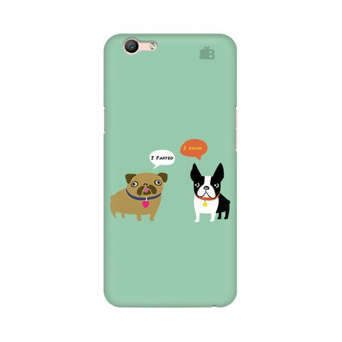 Cute Dog Buddies Oppo A57 Phone Cover