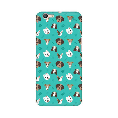 Doggie Pattern Oppo A57 Phone Cover