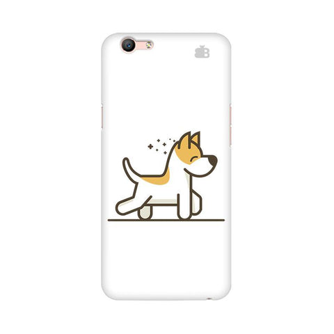 Happy Puppy Oppo A57 Phone Cover