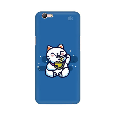 KItty eating Noodles Oppo A57 Phone Cover