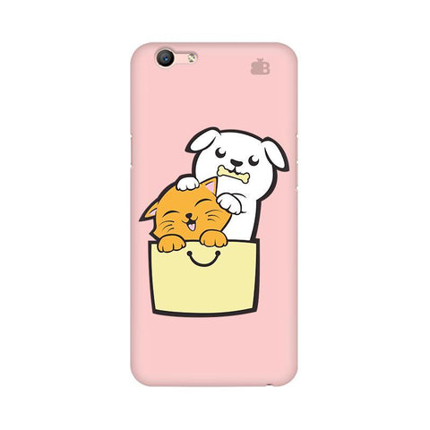 Kitty Puppy Buddies Oppo A57 Phone Cover