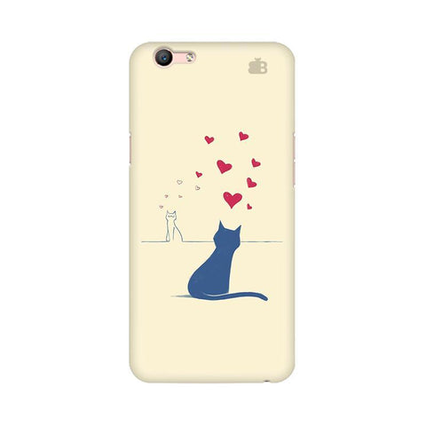 Kitty in Love Oppo A57 Phone Cover