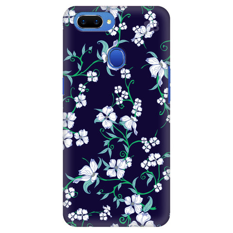 Dogwood Floral Pattern Oppo A5 Cover