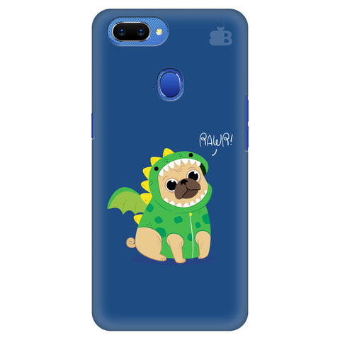 Pug-Rawr Oppo A5 Cover