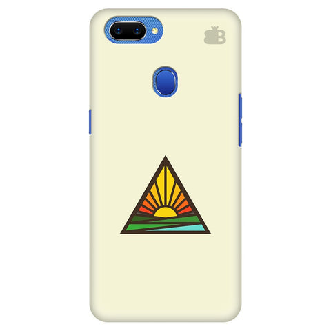 Triangular Sun Oppo A5 Cover