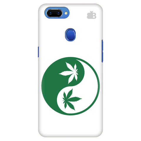 Weed Yin Yang Oppo A5 Cover