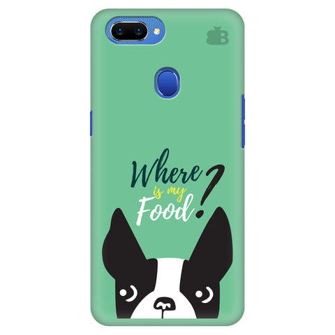 Where is my Food Oppo A5 Cover