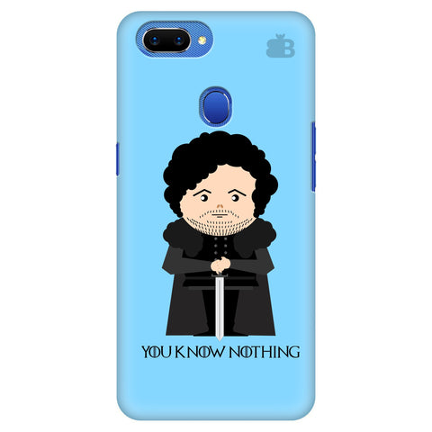 You Know Nothing Oppo A5 Cover