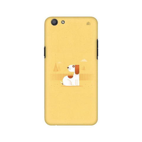 Calm Dog Oppo A77 Phone Cover