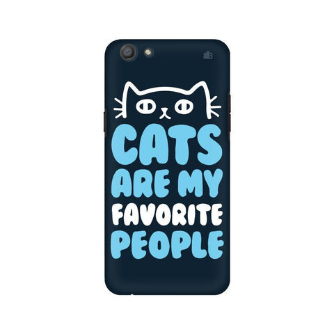 Cats favorite People Oppo A77 Phone Cover