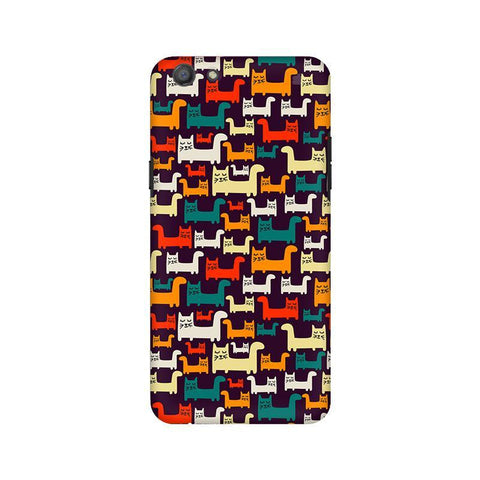 Chill Cats Oppo A77 Phone Cover