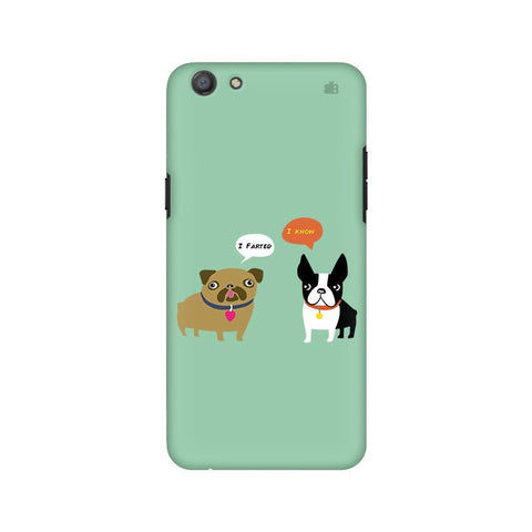 Cute Dog Buddies Oppo A77 Phone Cover