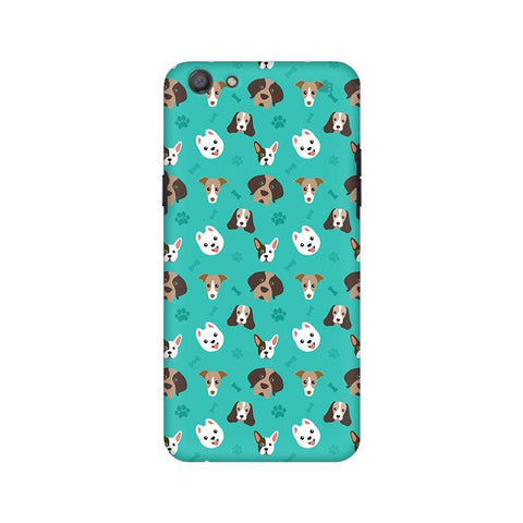 Doggie Pattern Oppo A77 Phone Cover