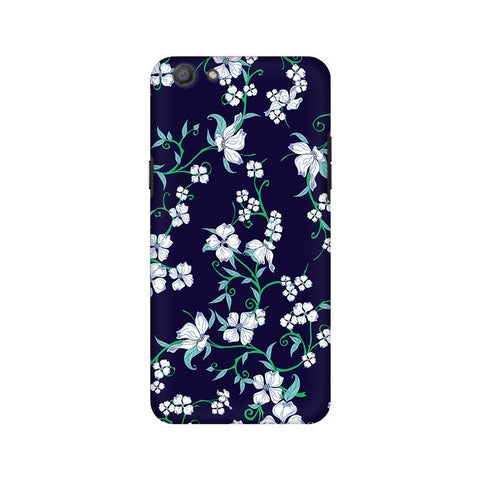 Dogwood Floral Pattern Oppo A77 Phone Cover