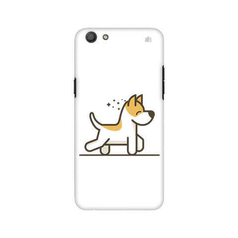 Happy Puppy Oppo A77 Phone Cover