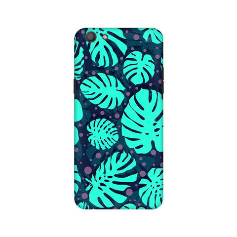 Tropical Leaves Pattern Oppo A77 Phone Cover
