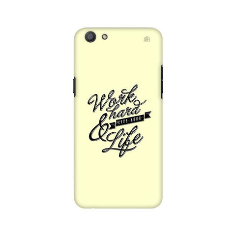 Work Hard Oppo A77 Phone Cover