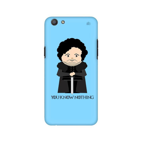 You Know Nothing Oppo A77 Phone Cover