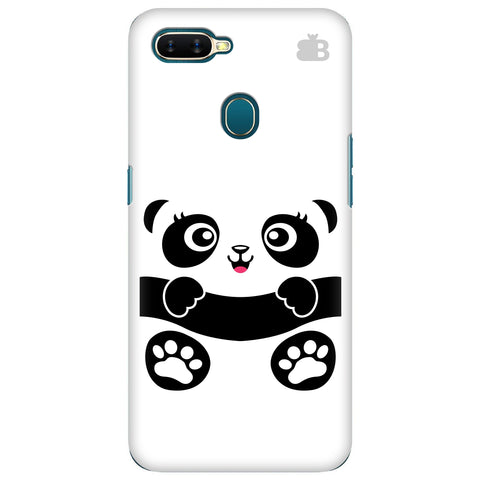 Baby Panda Oppo A7 Cover