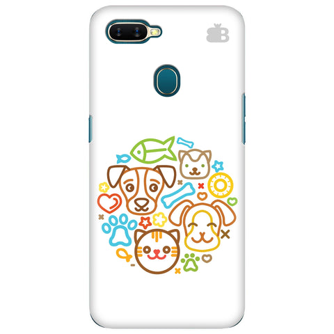 Cute Pets Oppo A7 Cover