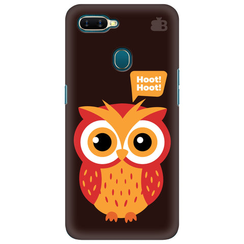 Hoot Hoot Oppo A7 Cover