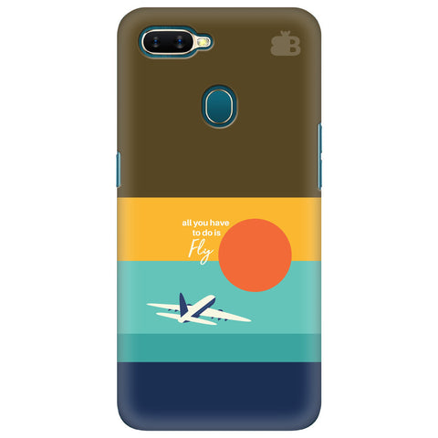 Just Fly Oppo A7 Cover