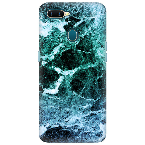 Sea Marble Oppo A7 Cover