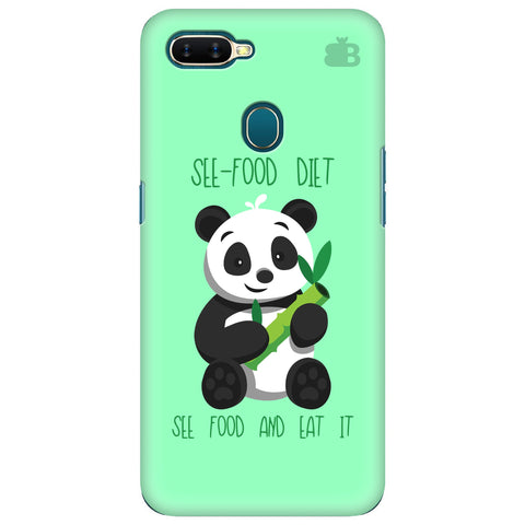 See-Food Diet Oppo A7 Cover