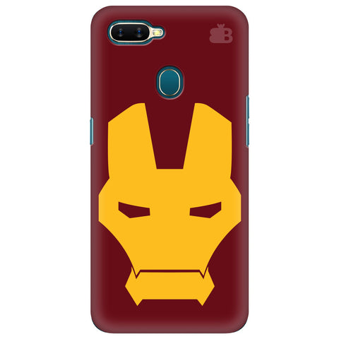 Superhero Mask Oppo A7 Cover